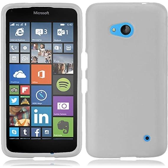 newest 46ab2 d2df9 Microsoft Nokia Lumia 640 Case - Wydan (TM) Rubberized 2-Piece Snap On Hard  Case Cover for Microsoft Nokia Lumia 640 - White w/Wydan Stylus Pen