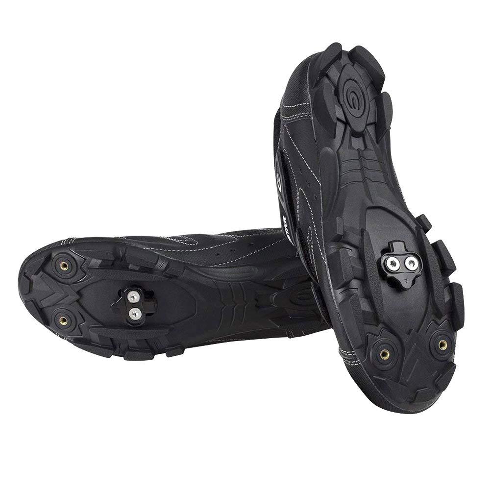 Coomir Tacos de Bicicleta Spinning Indoor Cycling /& Mountain Bike Cleat Set para Shimano SPD
