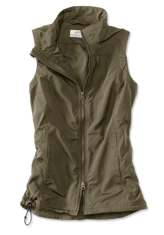 Orvis Women's Pack-and-go Travel Vest, Olive, Small