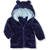 Tubute Unisex Baby Winter Coats Fleece Jackets Duffle Zipper Outerwear with Hoodies