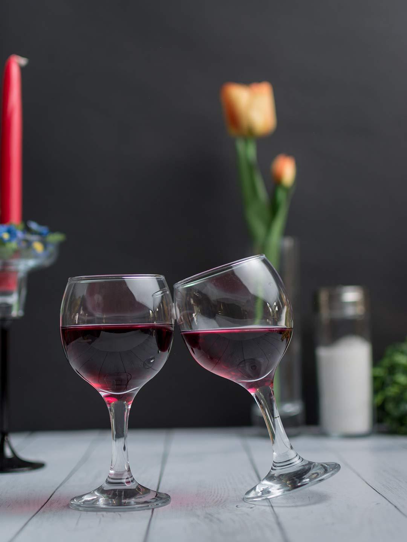 Bicchieri Acqua Modello Bistro Vetro 260 Cc 6 Pz