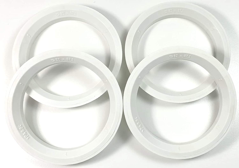 greitapigu.lt 4X Set Felgen Zentrierringe 67,1 mm auf 63,3 mm Alufelgen