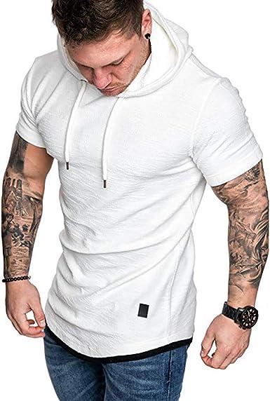 sweat shirt homme manche courte