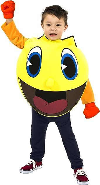 Disfraz para Niño de Pac Man aventuras fantasmales.: Amazon.es ...