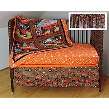 Image of Home and Kitchen Allis Chalmers AC Tractor Crib Bedding Nursery Set