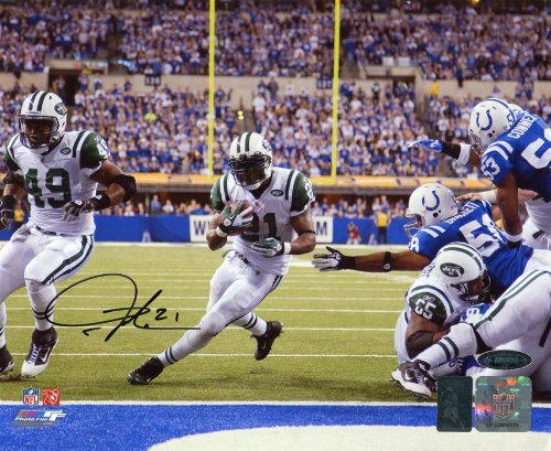 LaDainian Tomlinson Signed Autographed New York Jets 8x10 (Ladainian Tomlinson Autographed Football)