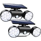 Solaires Solaire Lampes Etanche Led Indarun Extérieur Ip65Spot 30 4RL3c5Aqj