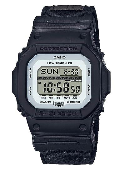 Casio Reloj Digital para Hombre de Cuarzo con Correa en Tela GLS-5600CL-1ER: Amazon.es: Relojes