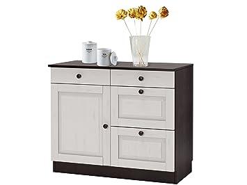 Küchenschrank Loft24 Cheryl Unterschrank Küchenunterschrank Schrank 3R54jLA