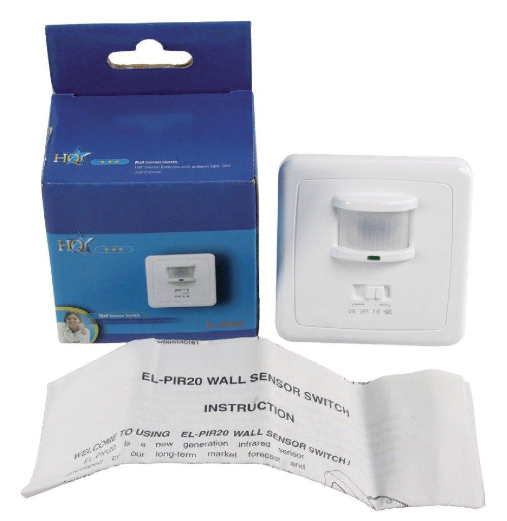 HQ - Sensor de movimiento de pared con infrarrojos: Amazon.es: Electrónica