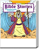 Bible Stories Kid's Educational Coloring & Activity Books in Bulk (25-Pack) - Ideal for Sunday Schools & Churches.