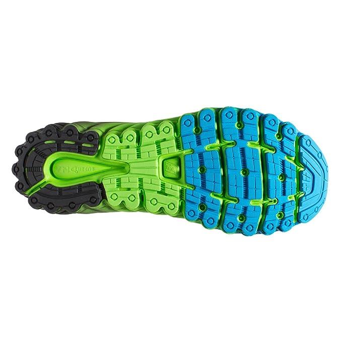Brooks glycérol 13 chaussures de course-homme-bleu/vert/noir 1101991D457 - - Methyl Blue/Green Flash/Black, 46.5