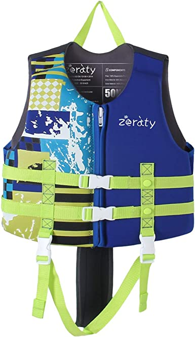 Soft Comfort Stretch Kids Child Float Buoyancy Aid Swimming Surf Full Suit