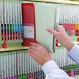 Smead End Tab Pressboard Fastener File Folder with SafeSHIELD Fastener, 2 Fasteners, 3\