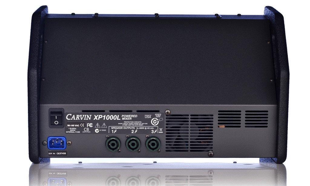 CARVIN Audio estéreo ligero con 1200 W 8 Canales Mezclador - xp1000l: Amazon.es: Instrumentos musicales