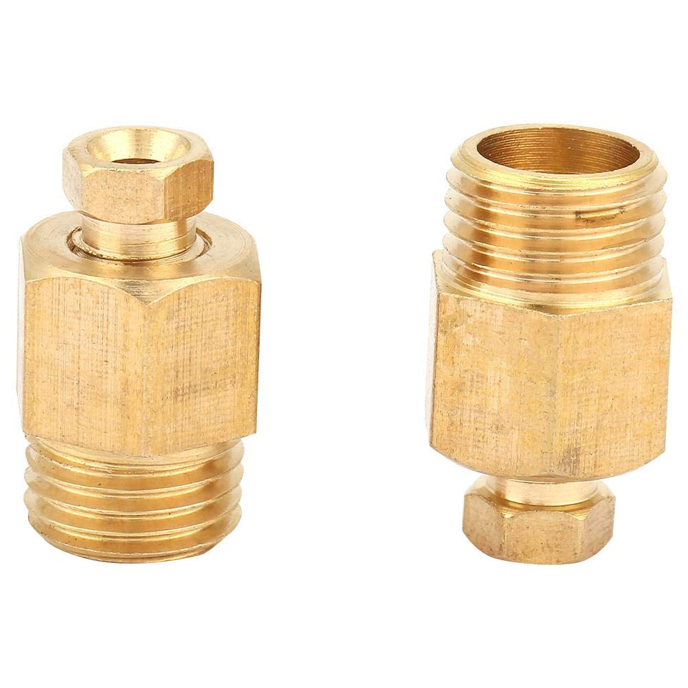 8-8mm Brass Wear-Resistant for Pipe Maintenance Repair Replacement Connecting Pipes Hose Brab Fitting Hose Barb Reducer