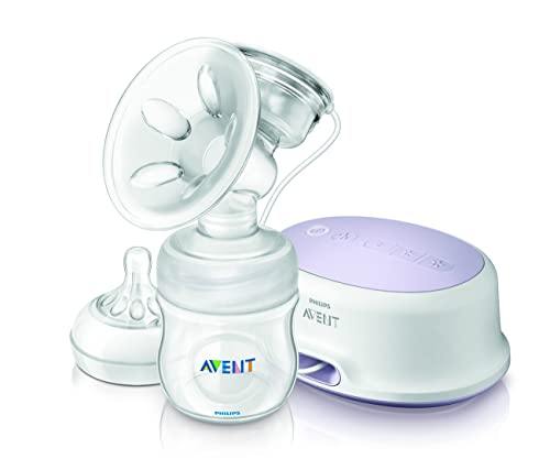 1. Philips Avent Comfort Single Electric Breast Pump