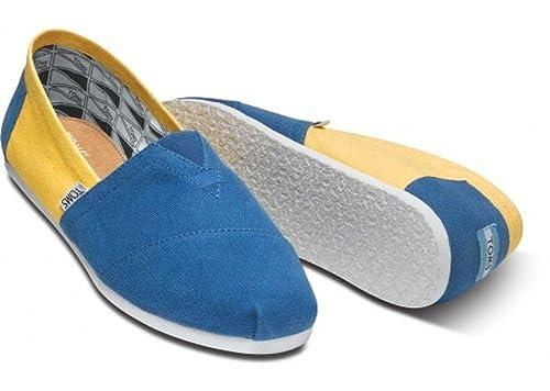 TOMS Zapatillas para hombre Classics UCLA Size 10: Amazon.es: Zapatos y complementos