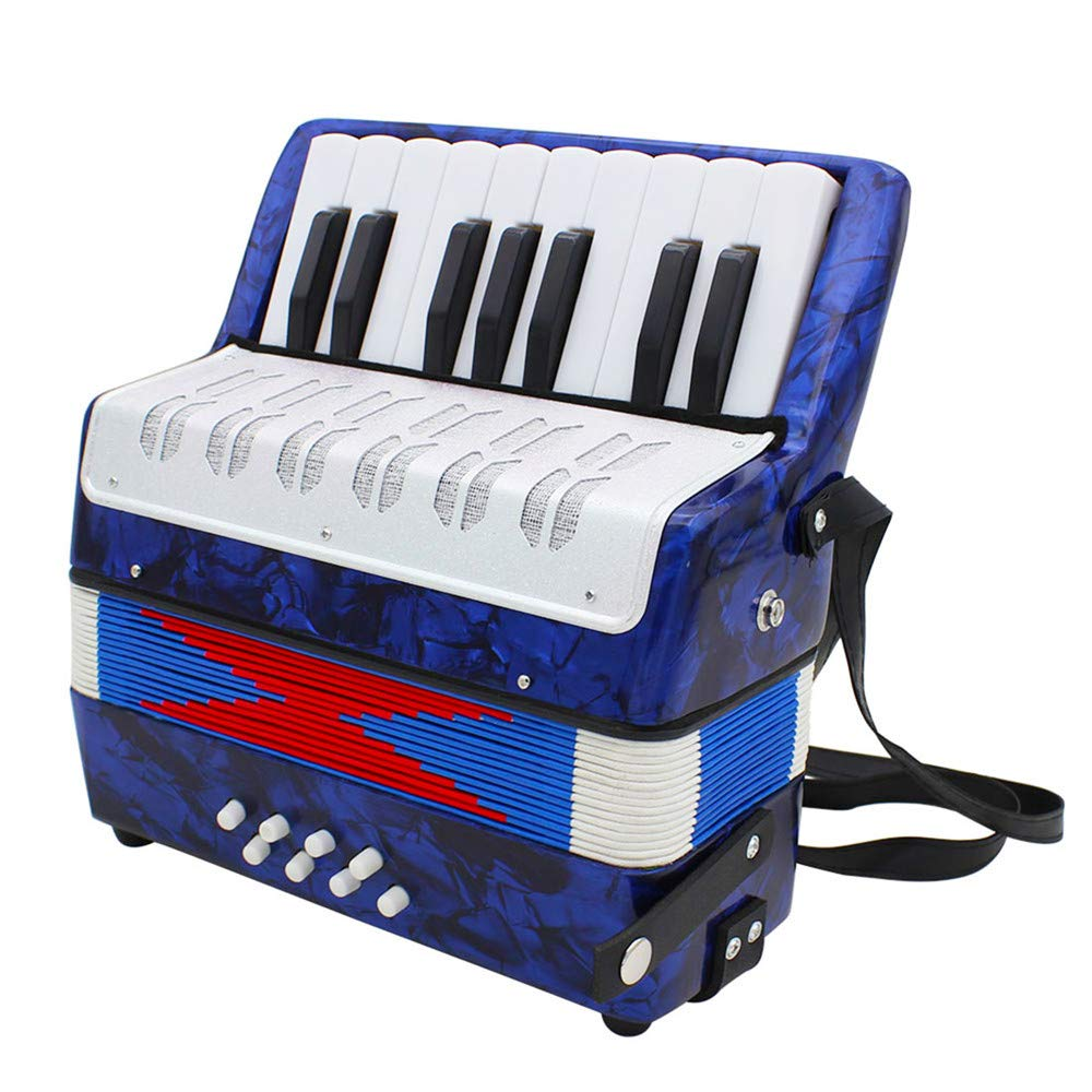 Accordions Mini Small 17-Key 8 Bass Educational Musical Instrument Toy for Kids Children Amateur Beginner by Accordions (Image #6)
