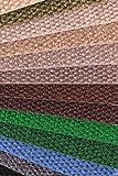 "IncStores - Hobnail Carpet Tiles Residential Flooring Self Adhering 18""x18"" 16 Tile Pack 36 Sqft (Black)"
