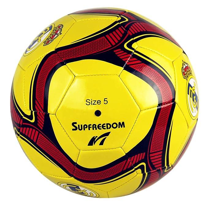 Supfreedom Balón de fútbol de fútbol del Real Madrid Club de ...