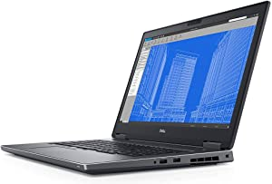 "Dell Precision 17 7730 17.3"" FHD Laptop w/ i7-8850H / 32GB / 1TB SSD / Radeon WX 7100 8GB / Windows 10 (Renewed)"