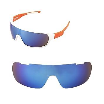 Vasos de repuesto Walleva para gafas de sol POC Blade, múltiples opciones, azul