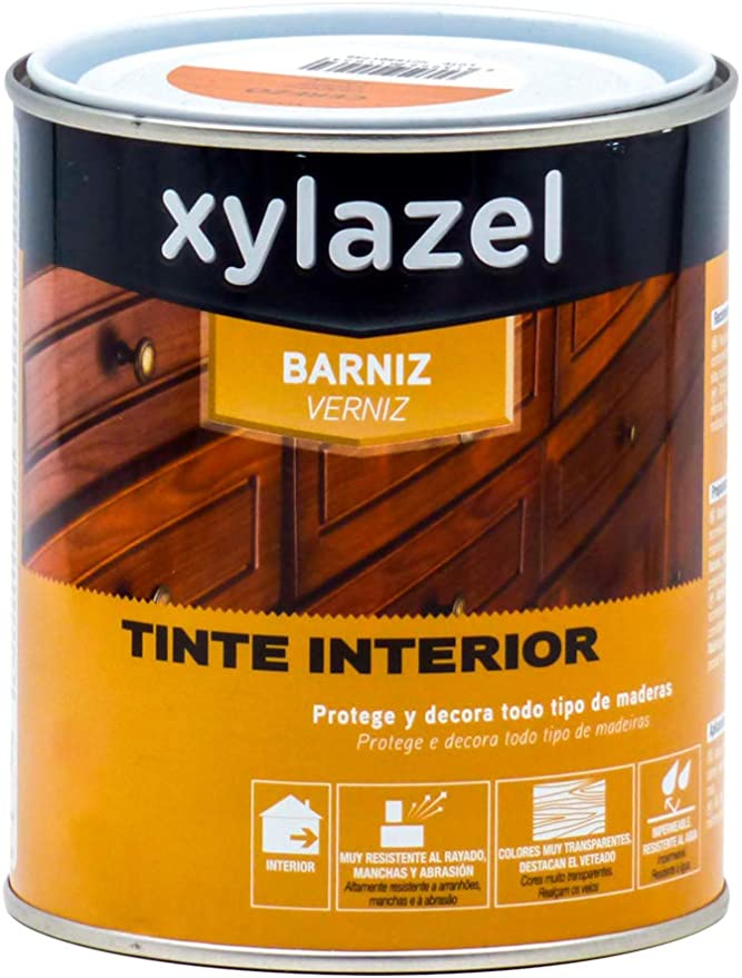 Xylazel 0411408 Barniz Tinte Interior, 125 ml: Amazon.es ...