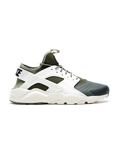 Zapatillas Nike - Air Huarache Run Ultra Se verde/blanco/verde talla: 46: Amazon.es: Zapatos y complementos