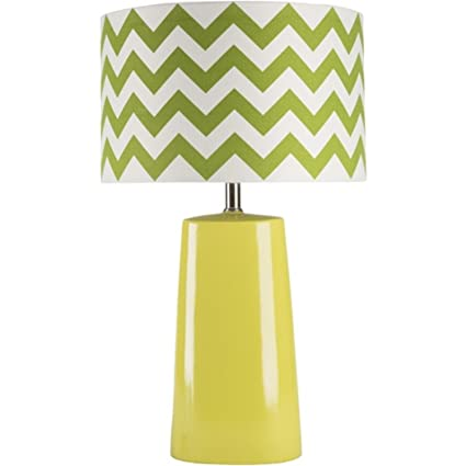 Amazon Com Diva At Home 24 Lime Green Table Lamp With Green And