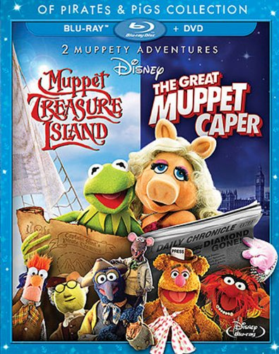 2 Muppety Adventures:  The Great Muppet Caper / Muppet Treasure Island Of Pirates & Pigs [Blu-ray]