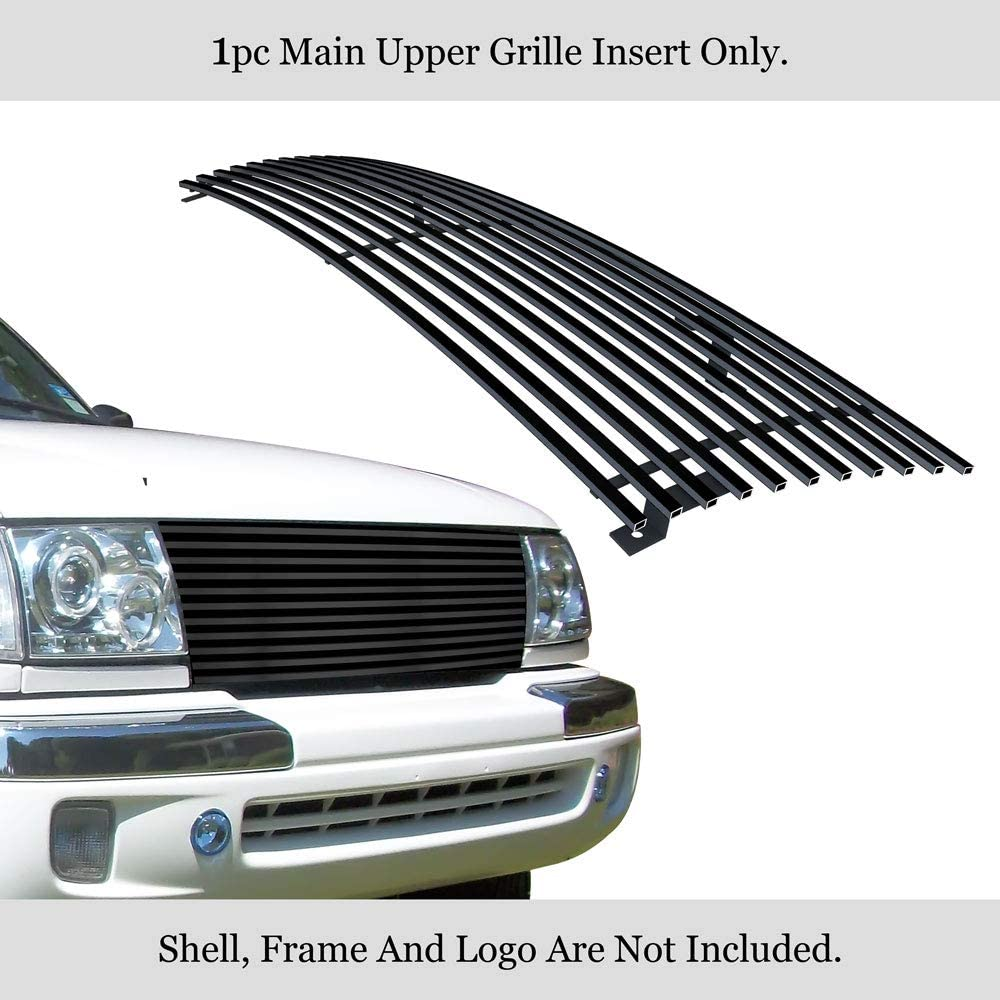 TRex Grilles 20881 Horizontal Aluminum Polished Finish Billet Grille Insert for Toyota Tacoma PreRunner