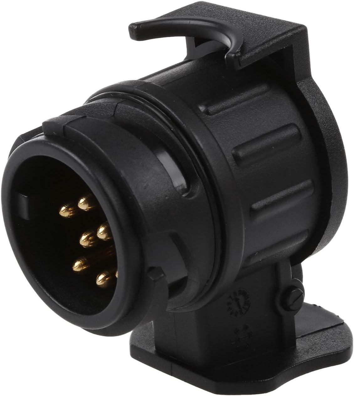 MagiDeal 13 Broches 12v Convertisseur /électrique Remorque Caravane Plug Socket Adaptateur Connecteur