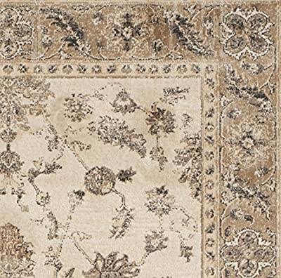 Safavieh Vintage Collection VTG168-3410 Stone and Mouse Area Rug