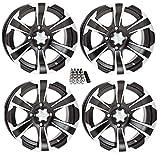 kawasaki teryx tires - ITP SS312 ATV Wheels/Rims Black 12