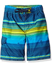 Boys' Sprint Stripe Swim Trunk