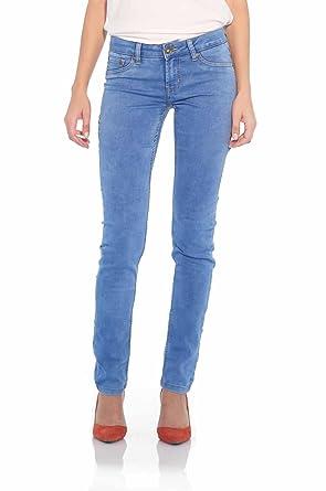 5fdeddf696e Suko Jeans Skinny Jeans for Women Stretch Denim 17152 Electric Blue 4 at  Amazon Women s Jeans store