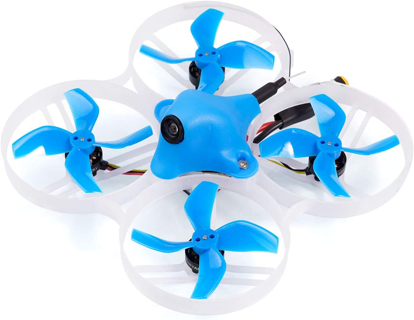 BETAFPV Meteor75 1S Brushless Whoop Drone Frsky D8 with BT2.0 Connector F4 AIO 1S FC VTX 18000KV 1102 Motor C01 Pro Camera for Tiny Whoop Micro FPV Racing Whoop Drone Quadcopter