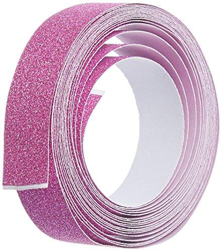 - DARICE 121722 3-Yard Sparkle Tape, 15mm, Hot Pink