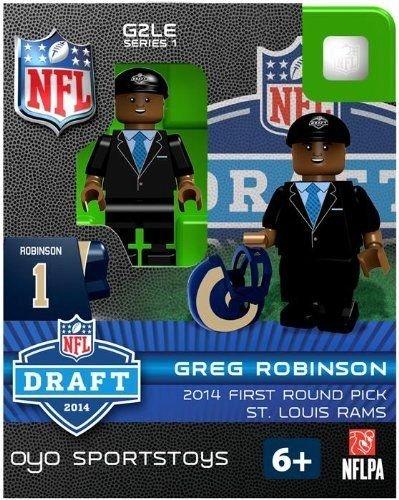 (Oyo Sportstoys St. Louis Rams Greg Robinson Draft Pick Figurine #1)