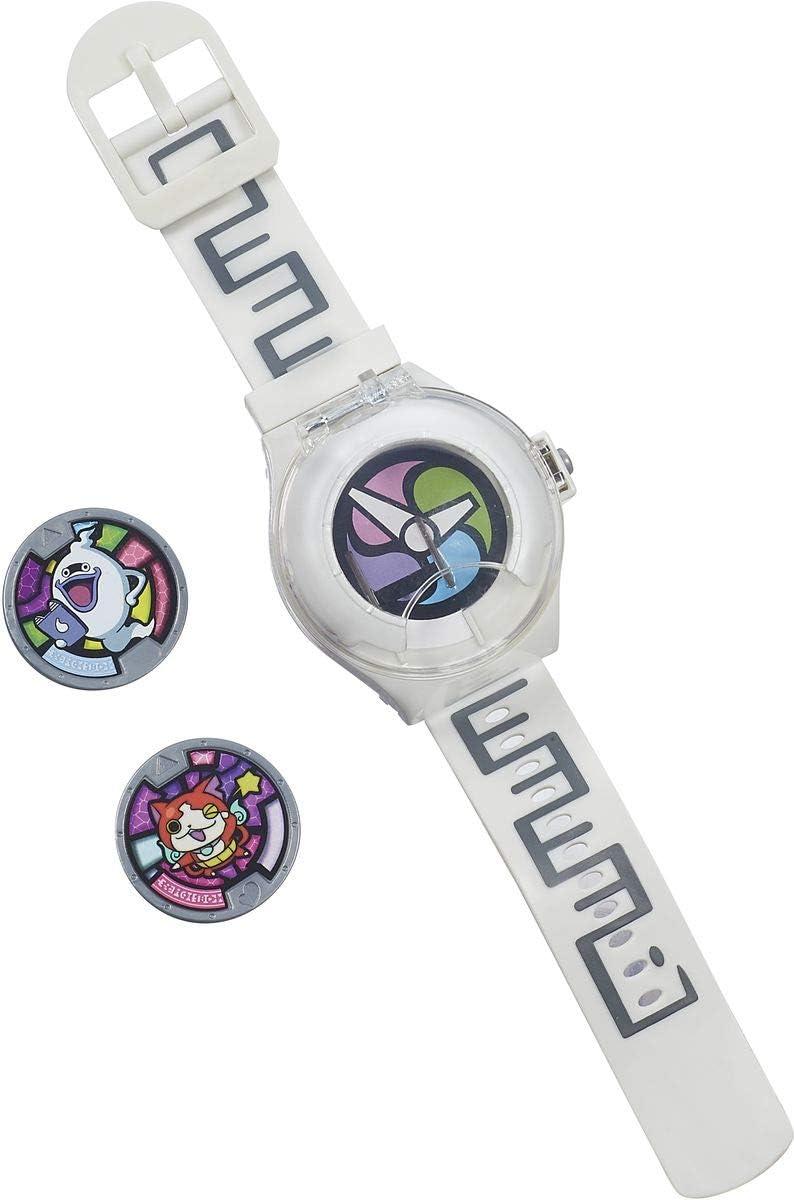 Reloj Yo-Kai Watch   Contiene a los personajes YOKAI Visper y Dzibanyan   Reloj para niños y niñas