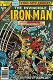 #10: Iron Man (1st Series) #Annual 4 VG ; Marvel comic book