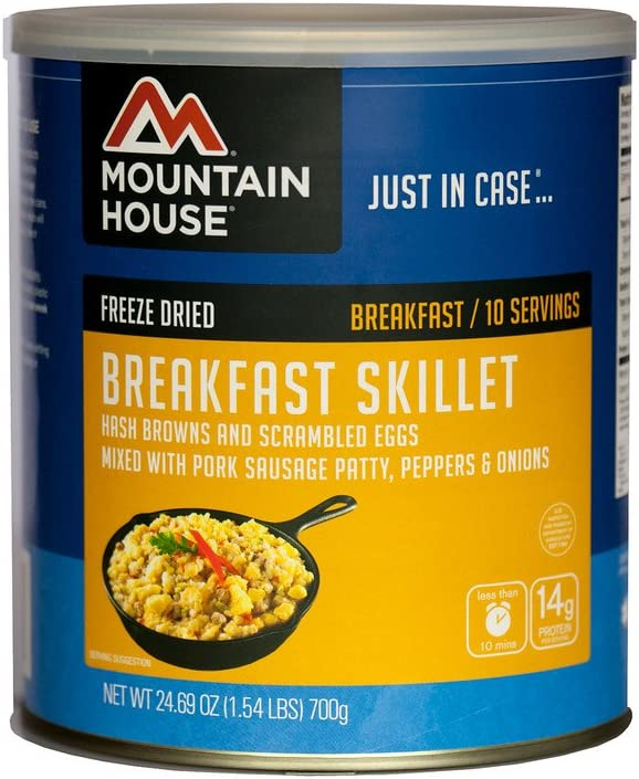 Mountain House Freeze Dried Breakfast