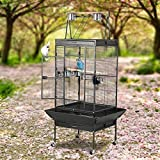 Yaheetech Pet Supply Large Bird Cage Play Top Parrot Finch Cage Cockatoo Cage, 29-1/2-inch By 31-inch By 68-inch