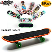 AumoToo Finger Skateboard, Pack de 5 minipastillas