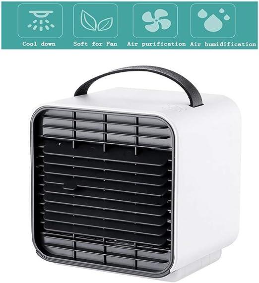 Mini Ventilador de Aire Acondicionado, Ventilador Personal ...