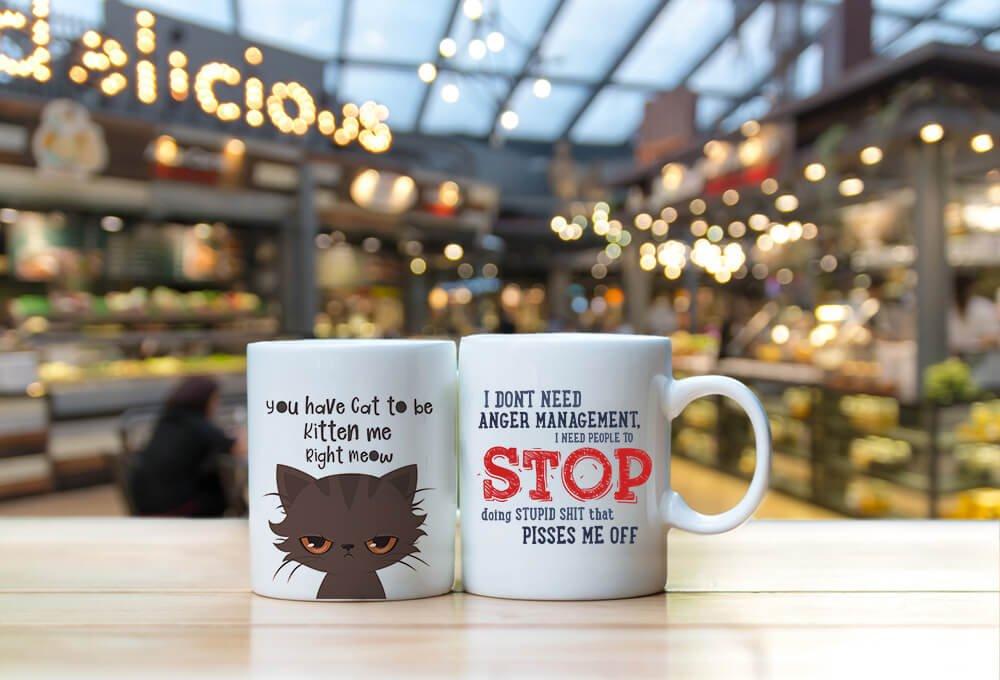 Letsinnovatelife Funny Coffee Mugs I Dont Need Anger Management