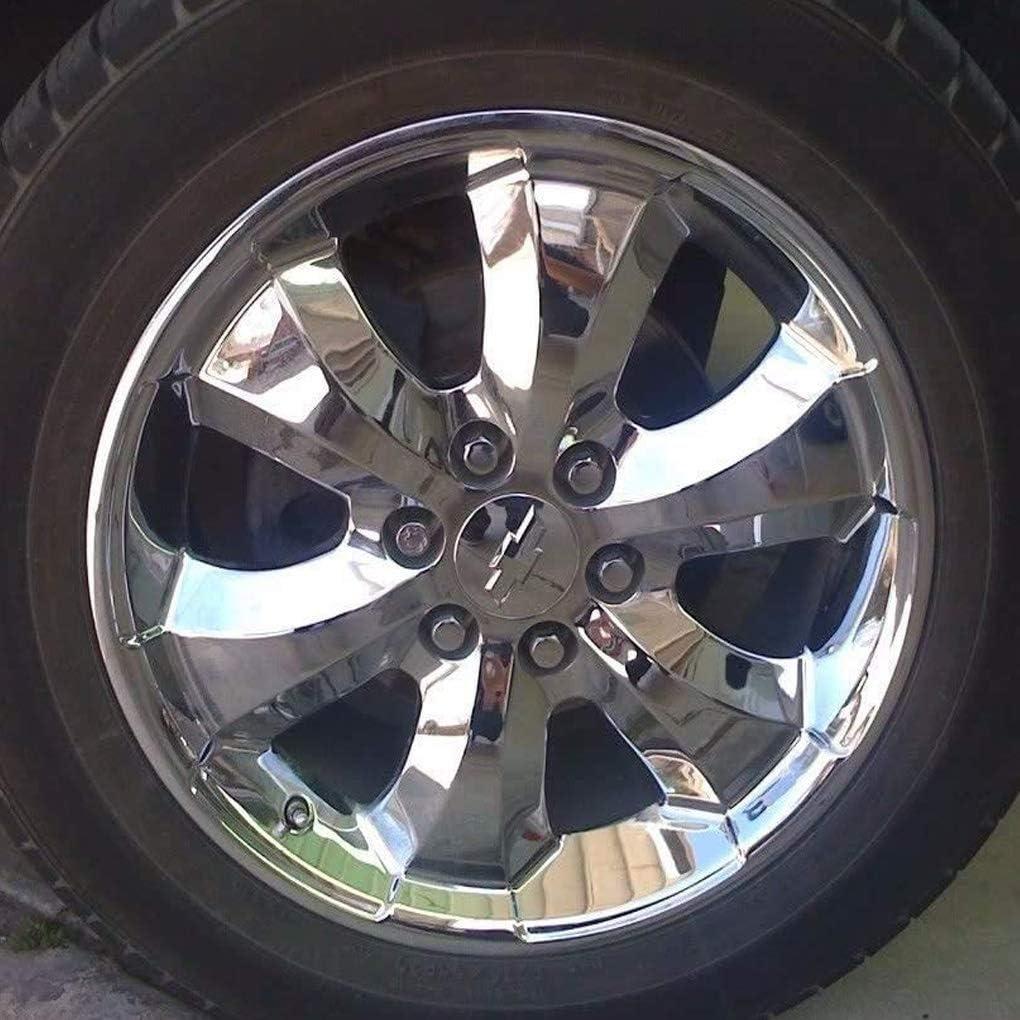 Silver 3.25//83mm Center Cap Emblem for 18 20 22 Chevy Suburban Silverado Tahoe Avalanche Wheels DIY1234 4Pcs Wheel Center Hub Caps for 2005-2013 Chevrolet