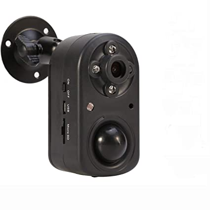 Battery powered security camera with night vision