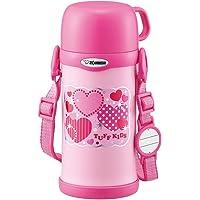 象印 保温杯 带杯盖 不锈钢水杯 600ml 粉红 SC-MC60-PA